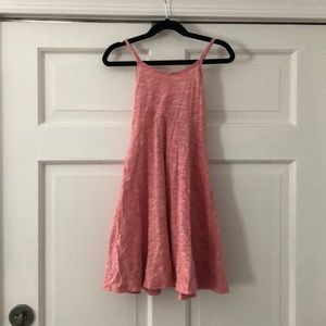 OLD NAVY Girls Peach Marbled Sundress Size S/6-7